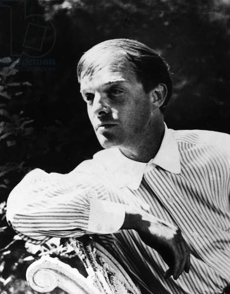 TRUMAN CAPOTE (1924-1984) American writer. Photograph by Phyllis Cerf, 1959.