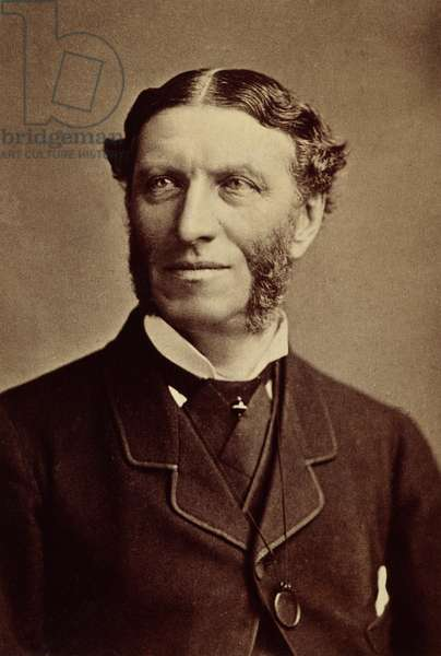 MATTHEW ARNOLD (1822-1888) English poet and critic. Original cabinet photograph.