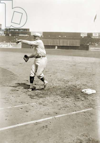 GEORGE H. RUTH (1895-1948) Known as Babe Ruth. American professional baseball player. Photographed while playing for the New York Yankees, 1921.