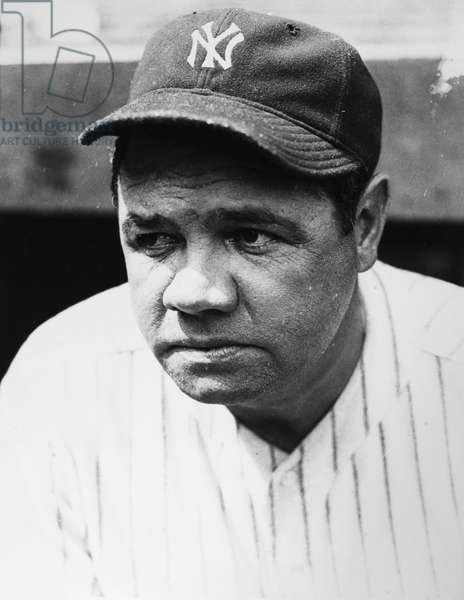 GEORGE H. RUTH (1895-1948) Known as Babe Ruth. American baseball player. Photographed while playing for the New York Yankees, 1932.