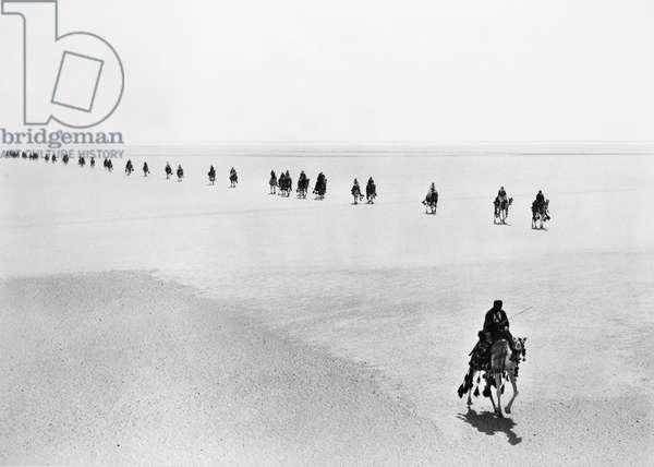 LAWRENCE OF ARABIA, 1962 Film still.