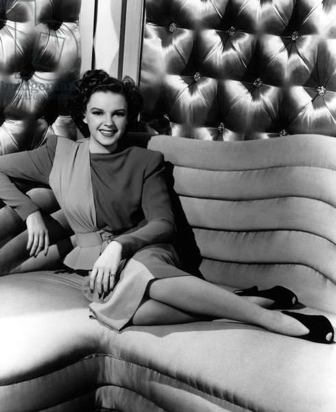 JUDY GARLAND (1922-1969) American singer and actress. Photograph, c.1941.