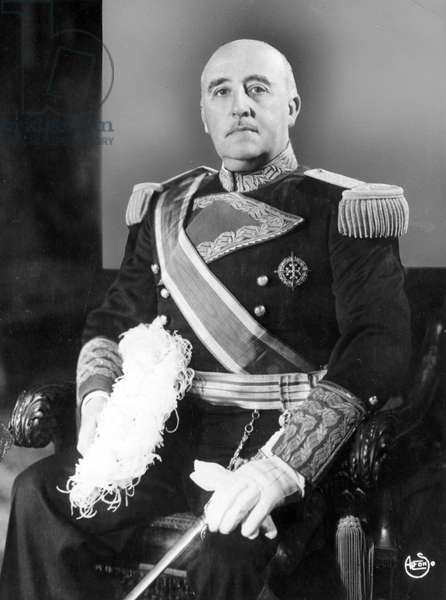 FRANCISCO FRANCO (1892-1975) Spanish soldier and dictator. Photographed c.1944.