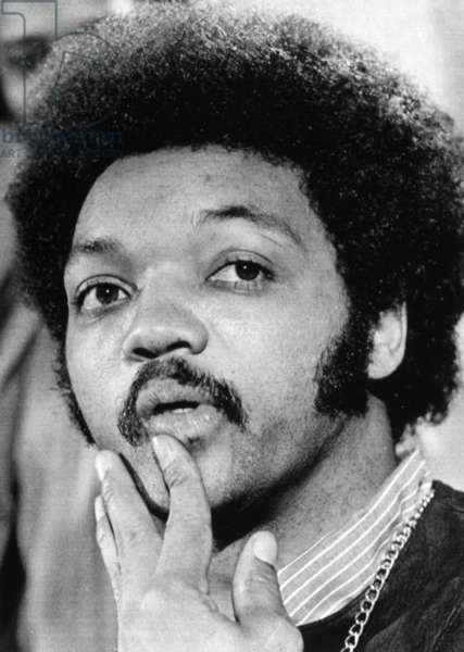 JESSE JACKSON (1941- ) American civil rights leader. Photographed in 1970.