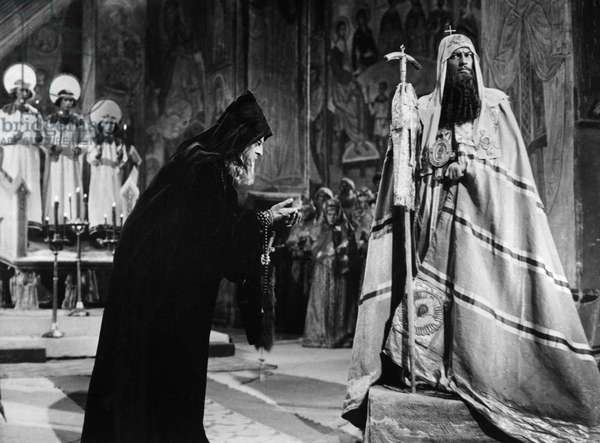 FILM: IVAN THE TERRIBLE Nikolai Cherkasov as Czar Ivan IV in 'Ivan the Terrible', directed by Sergei Eisenstein.
