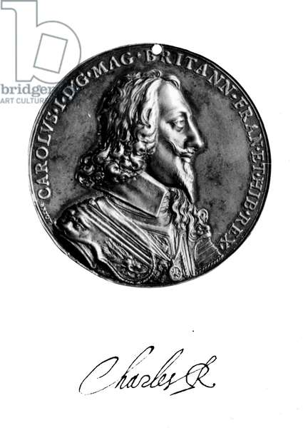 CHARLES I (1600-1649) King of Great Britain and Ireland, 1625-1649. Medal by Nicholas Briot, 1639, commemorating Dominion of the Seas.