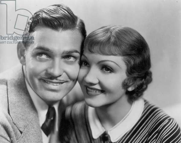 IT HAPPENED ONE NIGHT 1934 Clark Gable and Claudette Colbert.