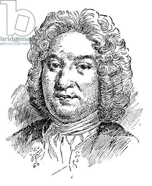 FRANCOIS COUPERIN (1668-1733). French composer and organist.