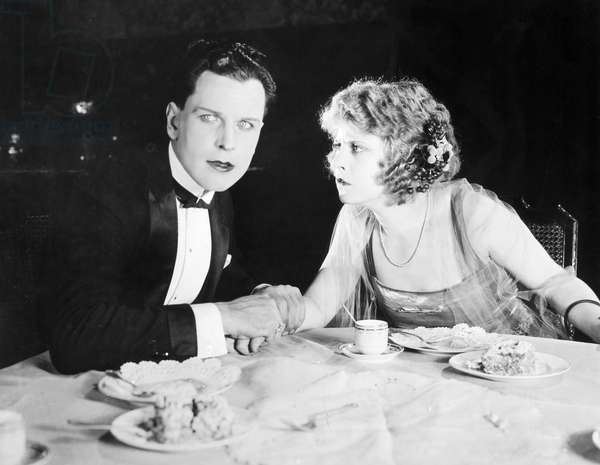 THE HUSBAND HUNTER, 1920 Eileen Percy in a scene from the film adaptation of F. Scott Fitzgerald's 'Myra Meets His Family.'