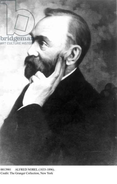 ALFRED NOBEL (1833-1896). Swedish chemist and engineer.
