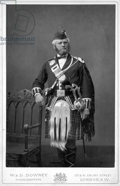 JOHN BROWN (1827-1883) Scottish servant to Queen Victoria. Photograph, n.d.