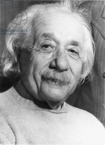ALBERT EINSTEIN (1879-1955) American (German-born) theoretical physicist. Photographed in 1954, on his 75th birthday.