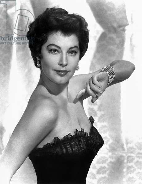 AVA GARDNER (1922-1990) American cinema actress.
