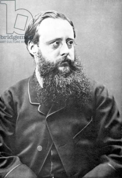 WILLIAM WILKIE COLLINS (1824-1889). English novelist. Photographed in 1865.