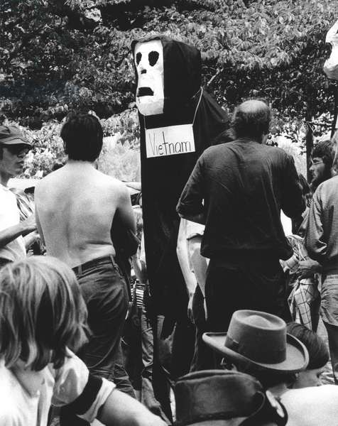 ANTI-WAR PROTEST, 1970 Protesters march in Washington, D.C., to demonstrate against the Vietnam War, the U.S. incursion into Cambodia, and the Kent State killings on 9 May 1970.