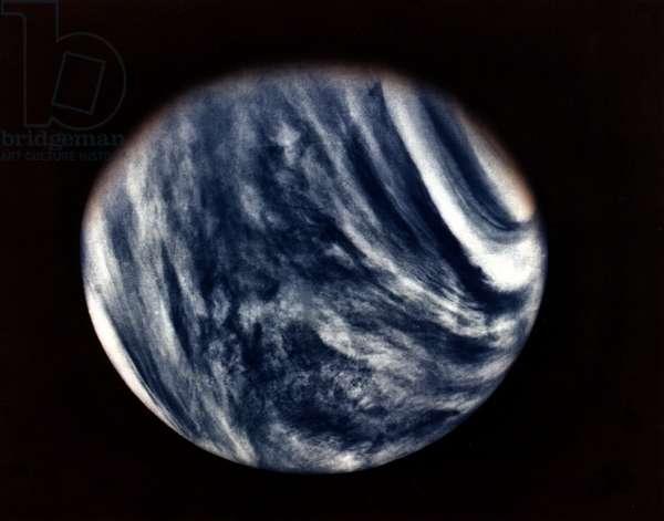MARINER 10: VENUS, 1974 Venus as seen from the Mariner 10 spacecraft. Photograph, 1974.