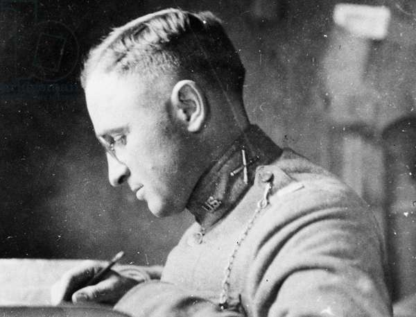 HARRY S. TRUMAN (1884-1972). Thirty-third President of the United States. Truman as a U.S. Army officer in France during World War I. Photographed c.1918.