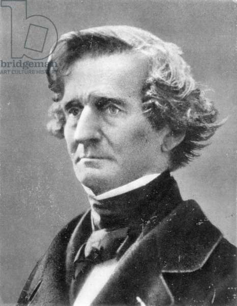 HECTOR BERLIOZ (1803-1869) French composer. Detail of a photograph, c.1863, by Nadar.