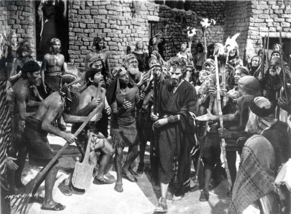 THE TEN COMMANDMENTS 1956 Charlton Heston as Moses.