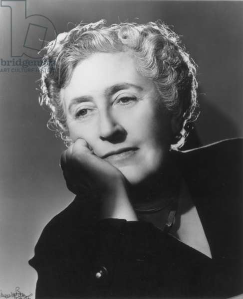 AGATHA CHRISTIE (1891-1976) English writer. Photograph, 1949.
