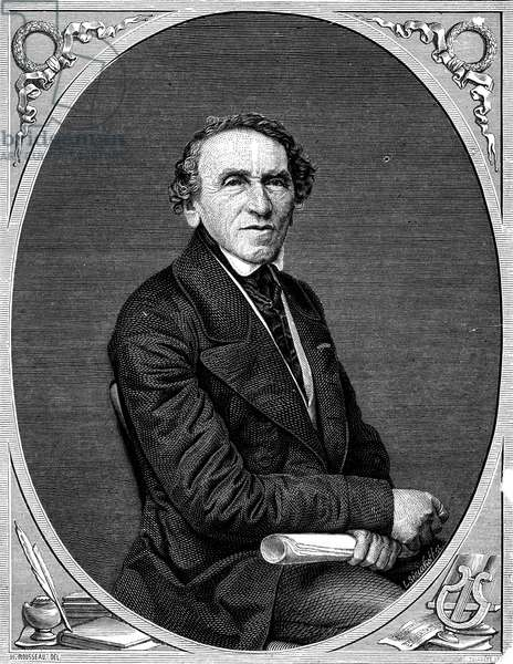 GIACOMO MEYERBEER (1791-1864). German composer. Wood engraving, 19th century.