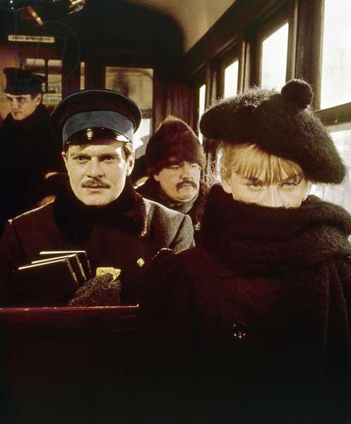 FILM: DOCTOR ZHIVAGO, 1965 Julie Christie and Omar Sharif in 'Doctor Zhivago' directed, 1965, by David Lean after the novel by Boris Pasternak.