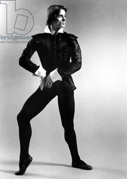 RUDOLF NUREYEV (1938-1993) Russian ballet dancer.