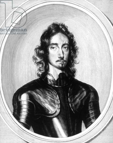 THOMAS FAIRFAX (1612-1671) Third Baron Fairfax of Cameron. English Parliamentary commander. Line engraving, c.1646, by William Faithorne after a painting by Robert Walker.