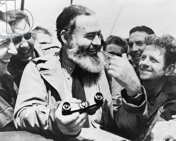 ERNEST HEMINGWAY (1899-1961). American writer. Photograph, 1959.