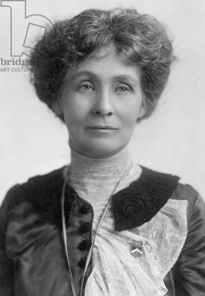 EMMELINE PANKHURST (1858-1928). English woman-suffragist.