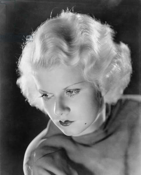 JEAN HARLOW (1911-1937) American film actress. Photographed in the 1930s.