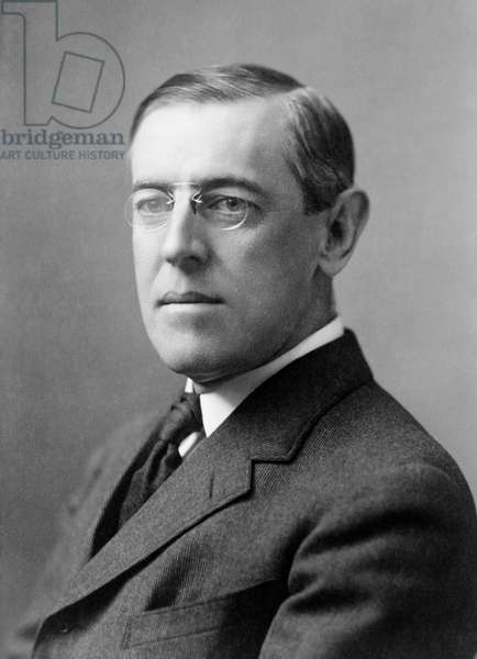 WOODROW WILSON (1856-1924) 28th President of the United States. Photographed c.1908.