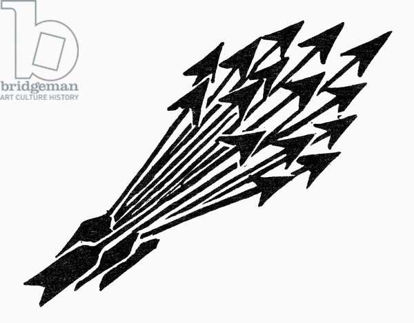 SYMBOL: UNITY Bundle of arrows, a symbol of unity.