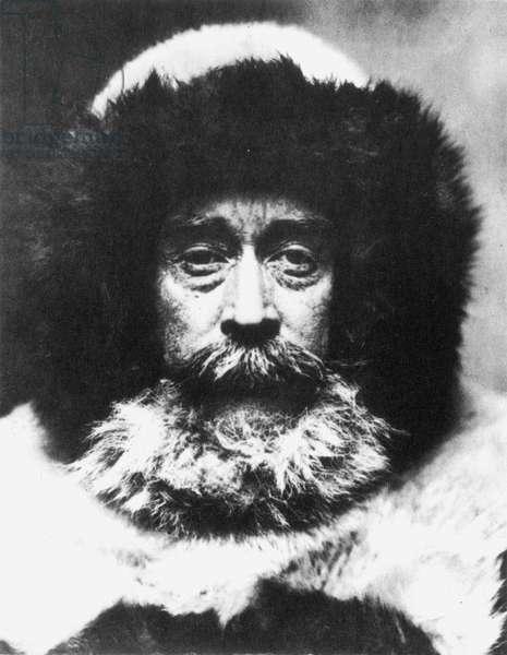 ROBERT PEARY (1856-1920) American artic explorer. Photographed c.1909.