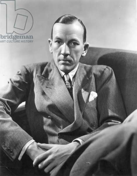 NOEL COWARD (1899-1973) English actor, composer and playwright.
