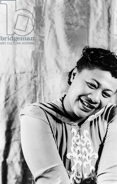 ELLA FITZGERALD (1917-1996) American singer. Photographed by Carl Van Vechten, 1940.