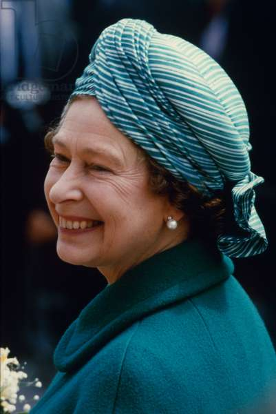 QUEEN ELIZABETH II (1926- ) Queen of England, 1952- .