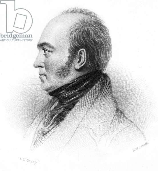 WALTER SAVAGE LANDOR (1775-1864). English writer. Stipple engraving, 19th century.