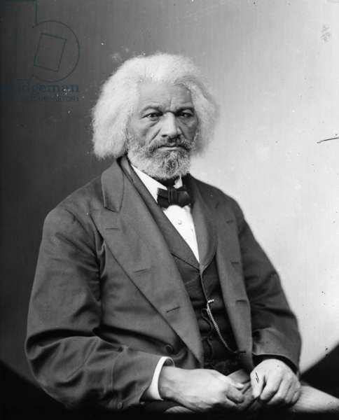 FREDERICK DOUGLASS ( c.1817-1895). American abolitionist and writer. Photograph, c.1880.