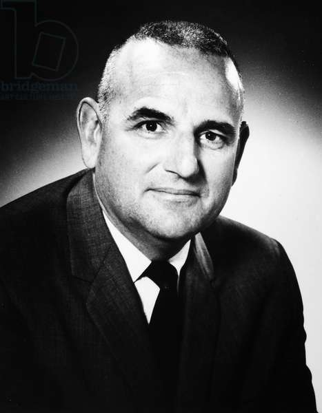 THORNTON A. WILSON (1921-1999) Chief Executive Officer of the Boeing Corporation, photographed c.1970.