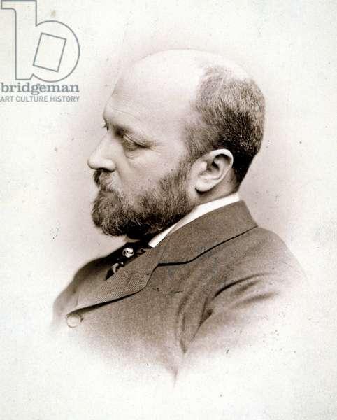 HENRY JAMES (1843-1916) American novelist. Photographed c.1890.