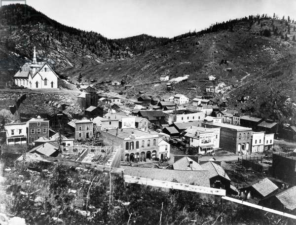 COLORADO: BLACK HAWK CITY Photographed 1864.