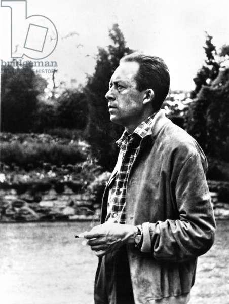 ALBERT CAMUS (1913-1960) French writer.