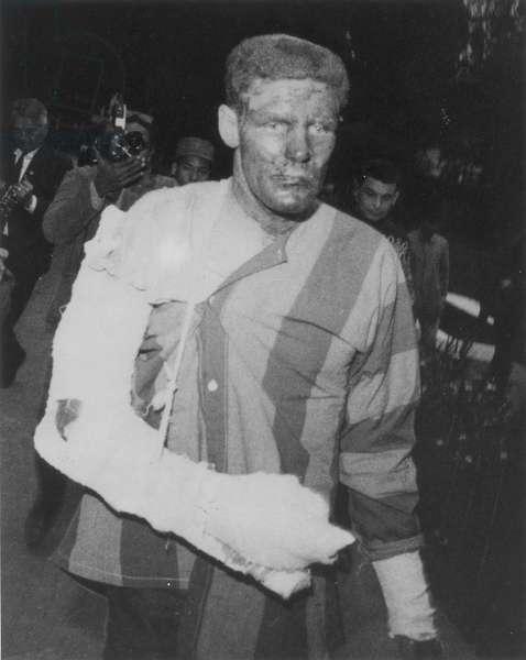 VIETNAM WAR Parading of U.S. prisoners.