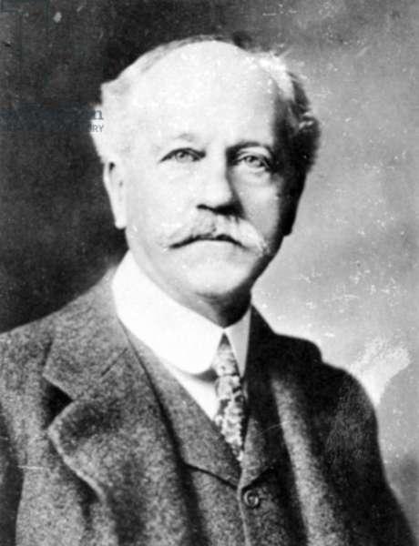 PERCIVAL LOWELL (1855-1916) American astronomer.