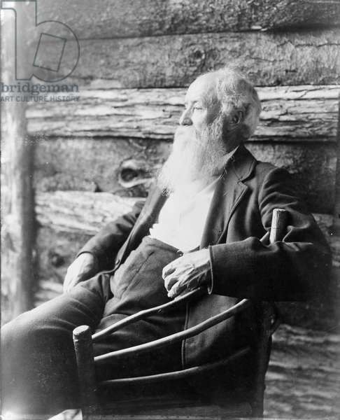 JOHN BURROUGHS (1837-1921) American naturalist. Photograph, c.1901.
