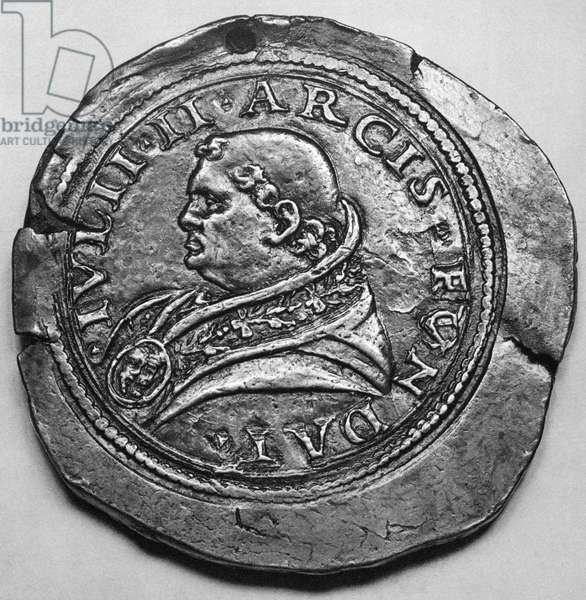 JULIUS II (1443-1513) Pope, 1503-1513. Contemporary medallion.