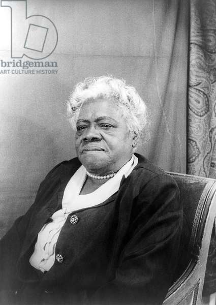 MARY MCLEOD BETHUNE (1875-1955). American educator and civil rights leader. Photographed by Carl Van Vechten, 1949.