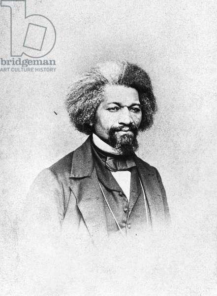 FREDERICK DOUGLASS ( c.1817-1895). American abolitionist. Photograph, c.1875.