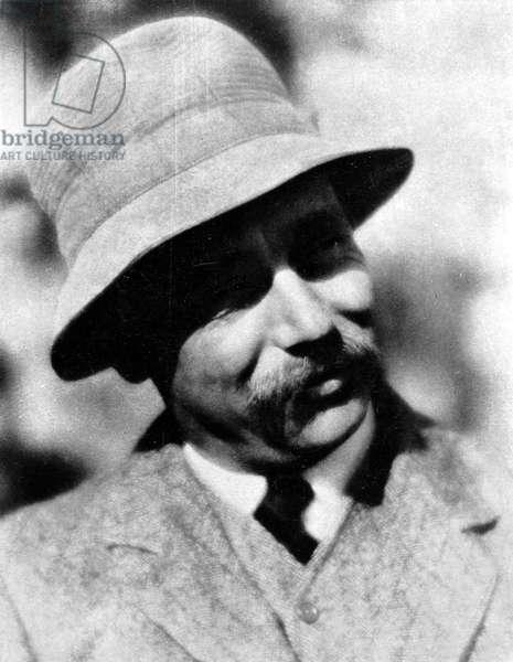 HERBERT GEORGE WELLS (1866-1946). English writer. Photographed in 1909.